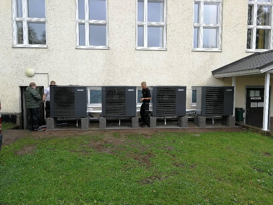 Jäspi Nordic ilma-vesilämpöpumppu