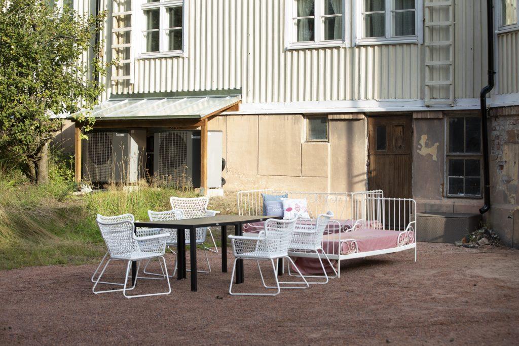 Villa Ljungbo ilma-vesilämpöpumppu